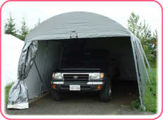 Canadian Made Portable Garages